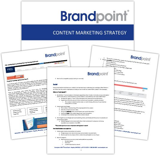 Content Marketing Strategy Deliverables