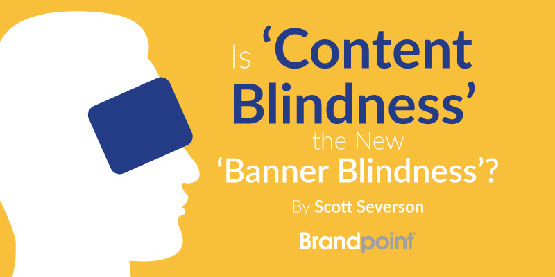 Is Content Blindness the New Banner Blindness? - Brandpoint Blog Image