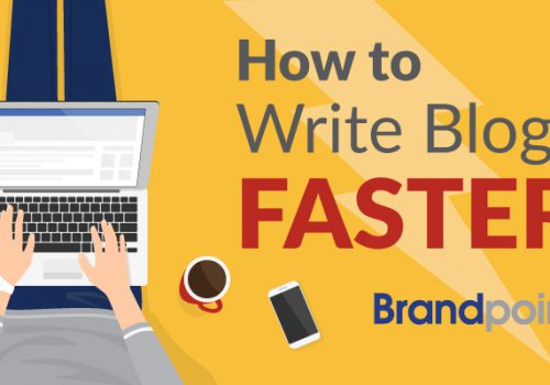 How to write blogs faster