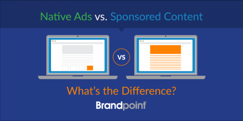 Native Advertising vs. Sponsored Content: What's the difference? (INFOGRAPHIC)