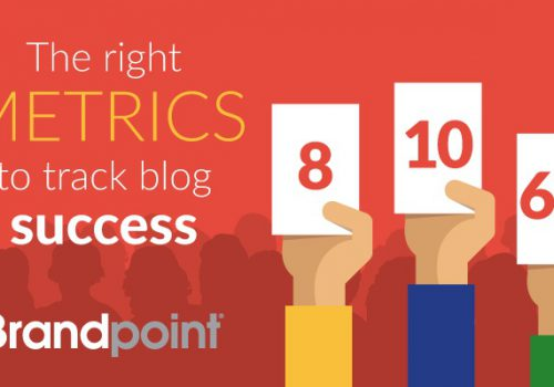 The right metrics to track blog success