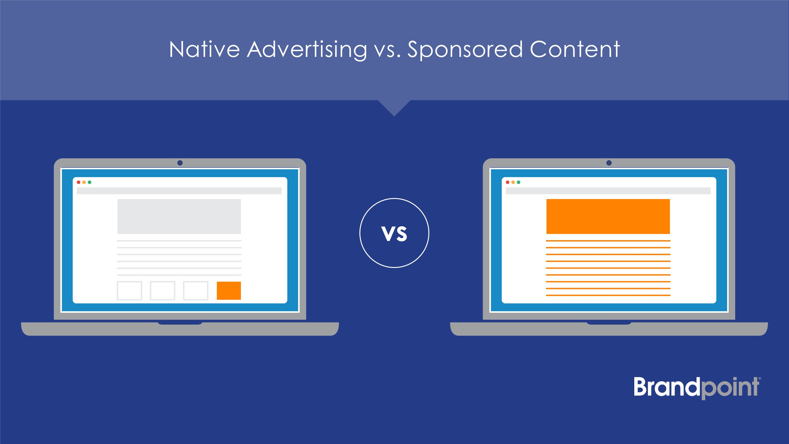 native advertising vs. sponsored content