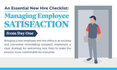 An Essential New Hire Checklist