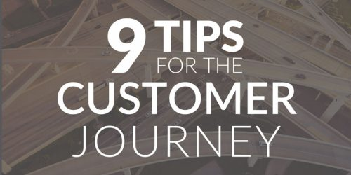 9 Tips for Improving the Customer Journey