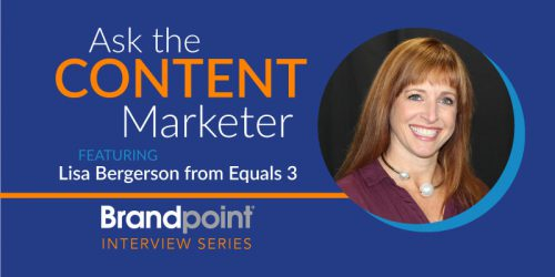 Discussing Content Goals with Equals 3's Director of Marketing