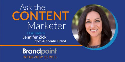 Create Content That Matters: An Interview With Authentic Brand