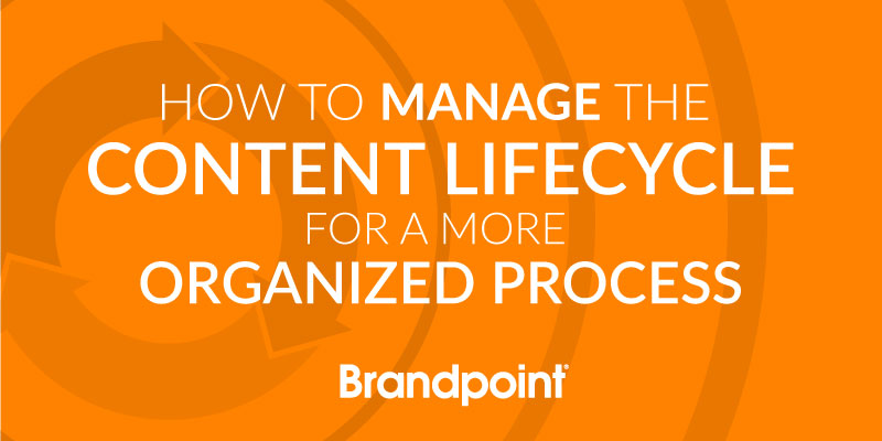 How to Manage the Content Lifecycle for a More Organized Process