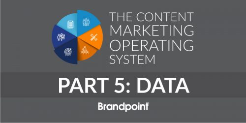 Content Marketing Operating System Part 5: Data and Metrics