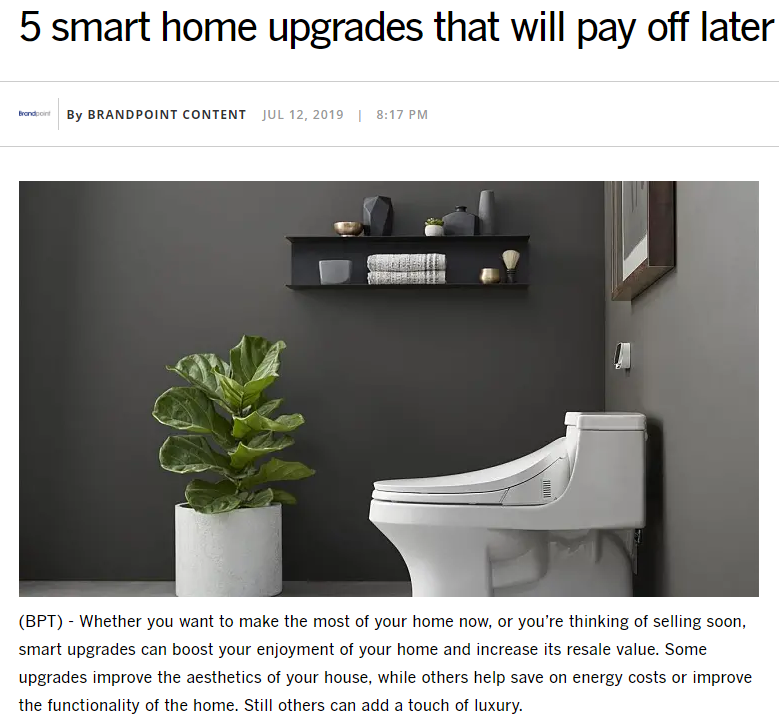 MAT Release example: 5 smart home upgrades