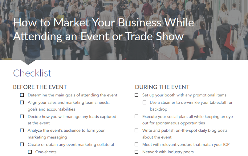 essentials of event marketing