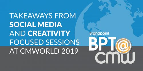 Content Marketing World 2019 Recap: Takeaways from Social Media and Creativity Focused Sessions