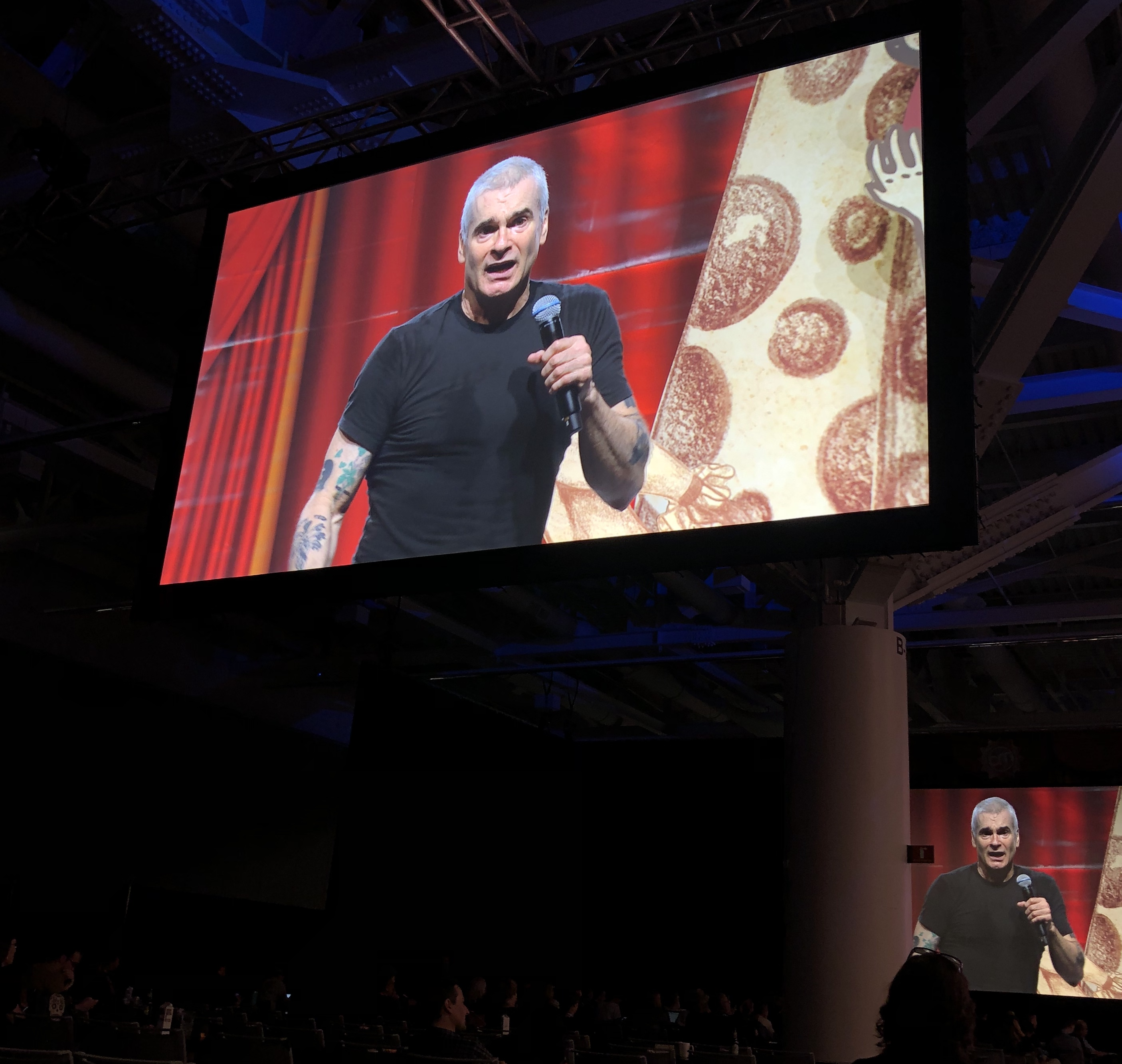 Henry Rollins at Content Marketing World