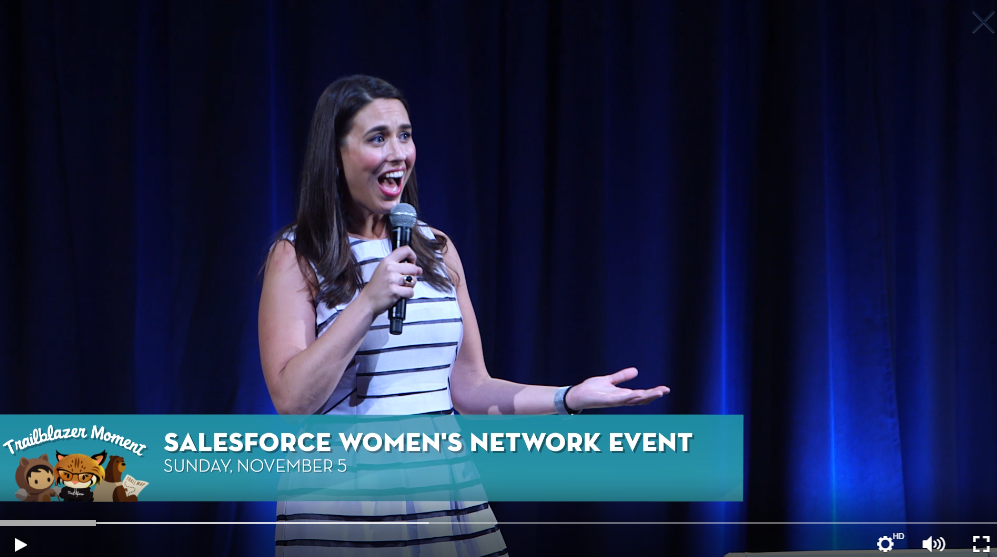 salesforce women in tech
