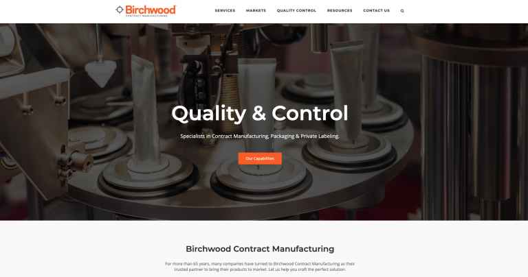 Birchwood Website