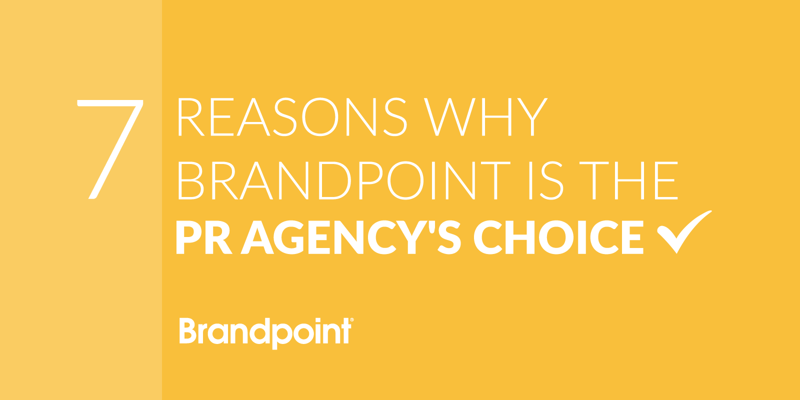 Brandpoint is the Agency's Choice