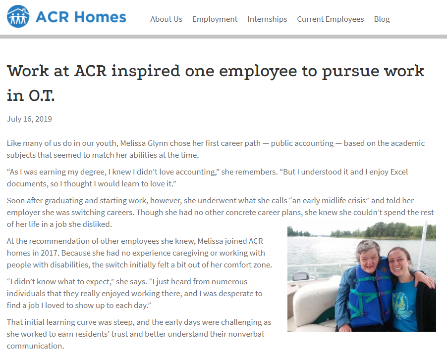ACR Homes blog series