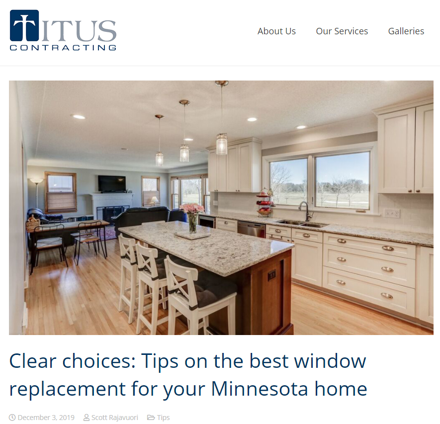 titus contracting blog post