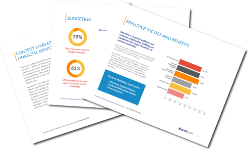 Download: The State of Content Marketing For Financial Services In 2021