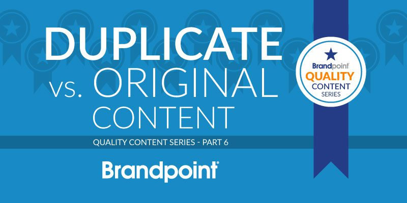How Duplicate and Original Content Affects SEO