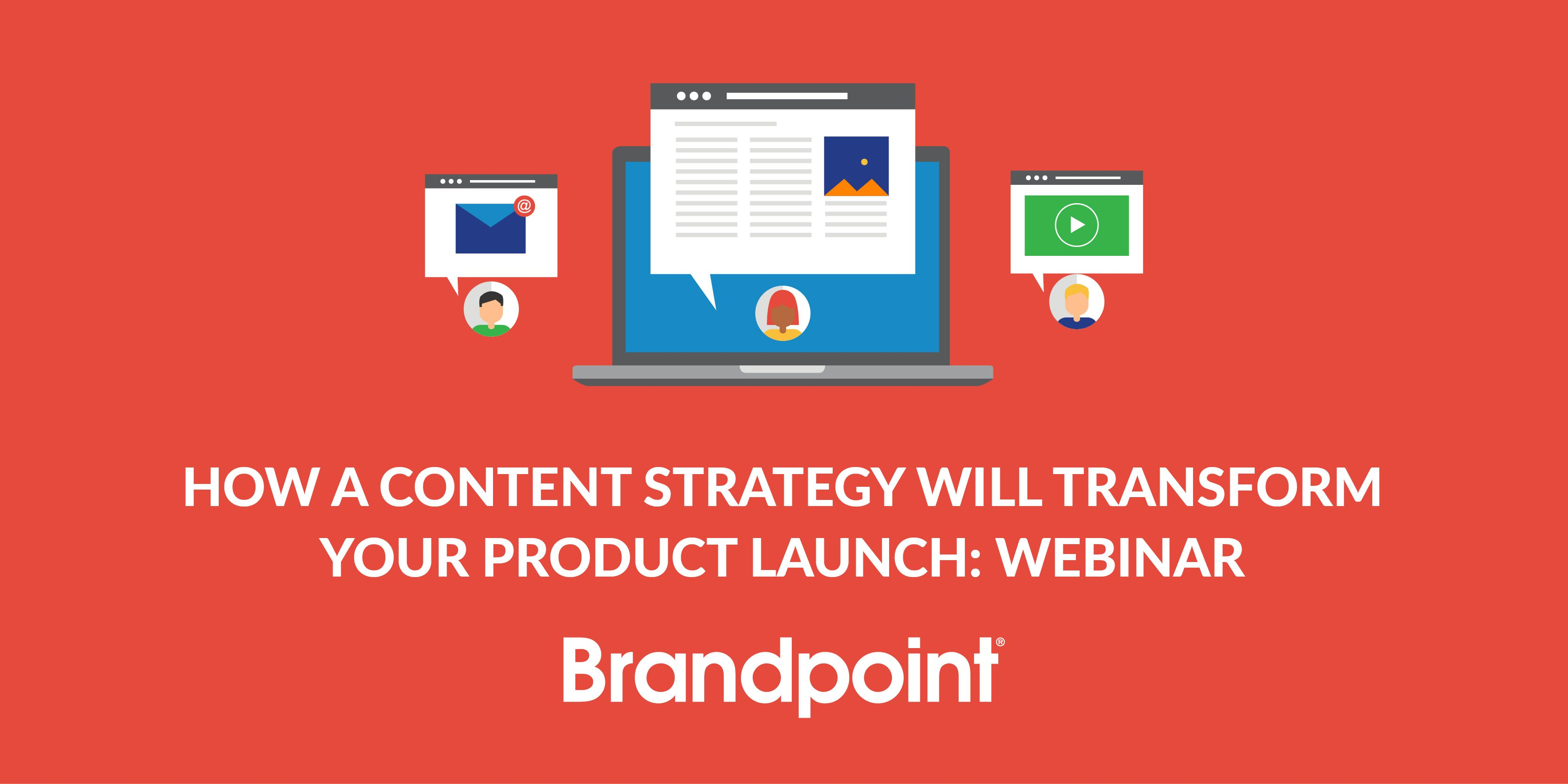Resource header image for content marketing strategy for product launches webinar