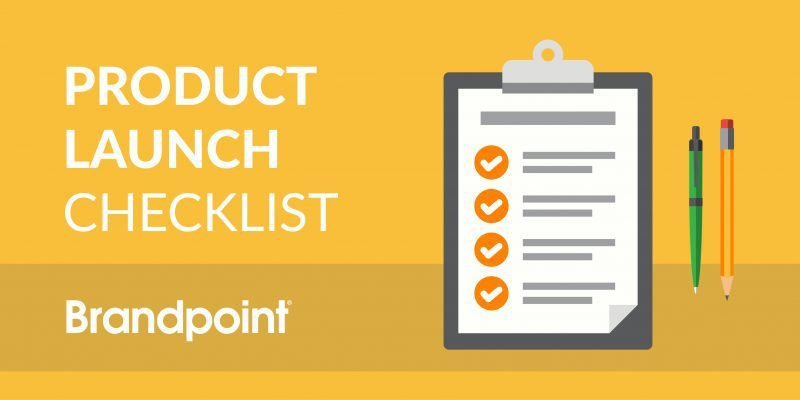 Product Launch Content Checklist header image