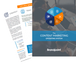 Screen shots of the Content Marketing Operating System download
