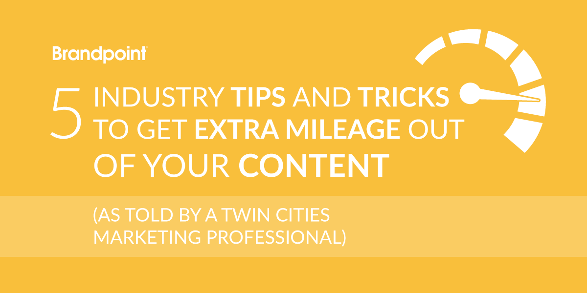 Getting More Out of Your Content Marketing