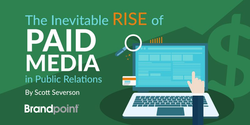 The inevitable rise of paid media in public relations